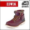EDWIN(エドウィン) メンズ カジュアルブーツ EDM-8500 レッドブラウン【メンズバーゲン】