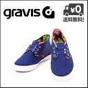 グラビス スニーカー メンズ GRAVIS QUARTERS CC(クオーターズ) Cordwayコレクション 12819100 402 ブルーデプス【メンズバーゲン】