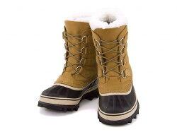 ソレルレディースウィンターブーツスノーブーツ防水防滑保温雨雪靴カリブーSORELCARIBOUNL1005バフ