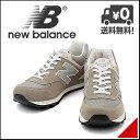 ニューバランス メンズ ランニングシューズ スニーカー D ML574 VG new balance 150574 グレー