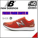 ニューバランス メンズ ランニングシューズ スニーカー フレッシュフォーム ザンテ 軽量 通気性 クッション性 屈曲性 耐久性 D M FRESH FOAM ZANTE M new balance 1010182 レッド/シルバー