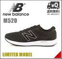 ニューバランス メンズ ランニングシューズ スニーカー M520 限定モデル 軽量 クッション性 EE カジュアル デイリー トラベル ウォーキング スポーツ new balance 161520 ブラック
