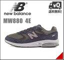 ニューバランス メンズ ウォーキングシューズ スニーカー MW880 軽量 クッション性 耐久性 4E 幅広 カジュアル デイリー トラベル スポーツ new balance 1008323 グレー/ネイビー