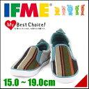 イフミー 女の子 男の子 キッズ 子供靴 スリッポン スニーカー カジュアル IFME 22-5707 グリーン