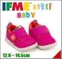 イフミー 女の子 男の子 キッズ ベビー 子供靴 運動靴 通学靴 ベビーシューズ スニーカー イフミーライト ストラップ 軽量 履きやすい カジュアル デイリー スクール IFME 22-7003 ピンク
