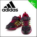 アディダス スニーカー キッズ 子供靴 アディダスファイト ADIDAS FAITO LT EL K D65293 ブラック/メタリックゴールド/ビビッドベリー