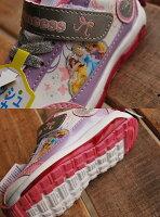 光る靴子供靴DISNEYディズニー光るスニーカー動画あり6667プリンセスシューズ運動靴小学校保育園幼稚園【Y_KO】