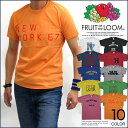 FRUIT OF THE LOOM プリント 半袖 Tシャツ...