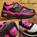 キッズ ローラーシューズ 女の子 SW011 一輪タイプ ウィール取り外し可能 靴 スニーカー 運動靴 子供靴 こども靴 Y_KO