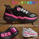 キッズ ローラーシューズ 女の子 17 一輪タイプ ウィール取り外し可能 靴 スニーカー 運動靴 子供靴 こども靴 Y_KO