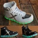 光る靴 光るスニーカー LEDスニーカー USB充電 7色 ...