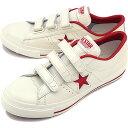 【即納】コンバース ワンスター ベルクロ スニーカー CONVERSE ONE STAR J V-3 ホワイト/レッド (32346792)【e】【コンビニ受取対応商品】