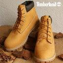 【在庫限り】【即納】Timberland ティンバーランド ブーツ レディース対応 ジュニア規格 6 inch Premium Waterproof Boot 6インチ プレミアム ウォータープルーフ ブーツ Wheat Nubuck 靴 (12909)【ts】【e】【コンビニ受取対応商品】