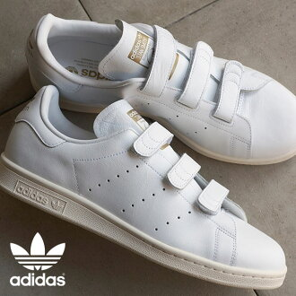 Japan Limited Edition adidas adidas originals sneakers STAN SMITH CF TF Stan comfort white / white / gold (AQ5357 FW15)