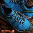 ショッピングトレッキングシューズ MERRELL メレル メンズ トレッキングシューズ CHAMELEON 5 STORM GTX MNS カメレオン5 ストーム ゴアテックス BLUE (21455 FW15)