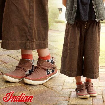 INDIANインディアンスニーカーメンズレディースID-975INDIANインディアンブーツBROWN(ID975FW14)【ts】【e】【あす楽対応】