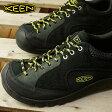 キーン メンズ ジャスパー ロックス KEEN コンフォートスニーカー MEN Jasper Rocks Black/Neon Yellow (1015665 FW16)
