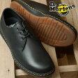 ドクターマーチン メンズ レディース ブーツ チャッカブーツ Dr.Martens CAVENDISH 3-EYE SHOE キャベンディッシュ 3ホール BLACK (21859001)【コンビニ受取対応商品】