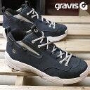 【即納】gravis グラビス スニーカー メンズ RIVAL ライバル NAVY/WHITE (01020 FW17)【コンビニ受取対応商品】
