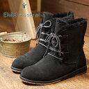 emu エミュー ムートン シープスキンブーツ Illawong イラウォング BLACK 靴 (W11657 FW17...