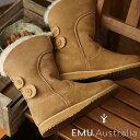 エミュー EMU シープスキンブーツ アンダ Anda レディース ムートン 靴 Chestnut (W11854 FW...