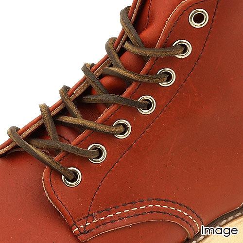 【即納】【メール便可】REDWING レッドウィング 純正アクセサリー 97134 レザー・シューレース【80inch/約200cm】(ブーツレース・靴ひも・革紐) ダークコーヒー RED WING レッドウィング【コンビニ受取対応商品】 shoetime
