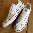 コンバース キャンバス オールスター ローカット CONVERSE CANVAS ALL STAR OX オプティカルホワイト (32160323) shoetime