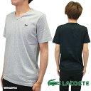 【即納】【メール便可】LACOSTE ラコステ メンズ V-NECK TEE Vネック Tシャツ (TH631E)【コンビニ受取対応商品】 shoetime