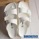 【即納】ビルケンシュトック アリゾナ EVA BIRKENSTOCK サンダル メンズ レディース ARIZONA White (GE129443/GE129441)【幅狭】【幅広】【コンビニ受取対応商品】