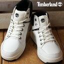 【即納】Timberland ティンバーランド メンズ スニーカー Raystown Sneaker Boot レイズタウン スニーカーブーツ White Full Grain/Black (A19FO SS17)【コンビニ受取対応商品】 shoetime