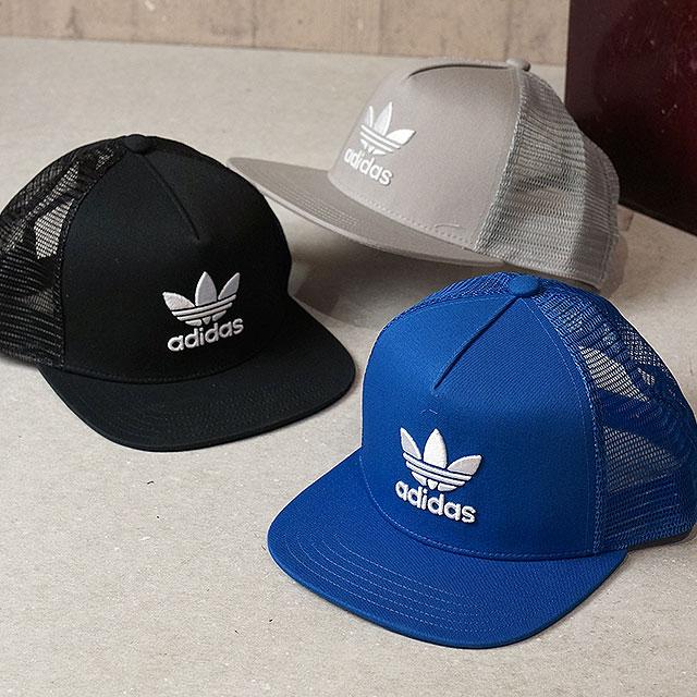 【即納】adidas Originals アディダス オリジナルス TREFOIL TRUCKER CAP メンズ レディース トレフォイル トラッカー メッシュキャップ (MLH56/BK7308 SS18)【コンビニ受取対応商品】