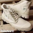 【在庫限り】Timberland ティンバーランド メンズ ブーツ City Blazer Fabric and Leather Chukka シティブレイザー ファブリック アンド チャッカブーツ White (A1GGI SS17)【ts】【コンビニ受取対応商品】