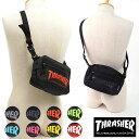 【即納】【メール便可】THRASHER スラッシャー ショルダーバッグ (THRSG-400 SS17)【コンビニ受取対応商品】