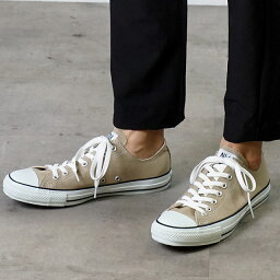 CONVERSE <strong>コンバース</strong> スニーカー 靴 メンズ・レディース ALL STAR COLORS OX オールスター カラーズ ローカット <strong>ベージュ</strong> (32860669 1CL129)