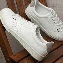 【即納】le coq sportif ルコックスポルティフ レディース スニーカー 靴 LA ROLAND SL ローラン SL ホワイト/グレー (QL1LJC16WG SS18)【コンビニ受取対応商品】