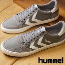 【即納】ヒュンメル hummel スリーマー スタディール キャンバス ローカット SLIMMER STADIL CANVAS LOW スニーカー 靴 メンズ・レディース FROST GREY (HM63112K-2094 SS18)【コンビニ受取対応商品】