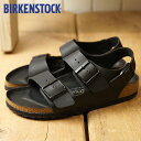 ショッピングビルケンシュトック BIRKENSTOCK ビルケンシュトック サンダル 靴 メンズ・レディース MilanoHEX ミラノ Black/Black (GC1008075 SS18)