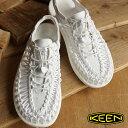 ショッピングポイント10倍 【ショップポイント10倍!1/31まで】KEEN キーン メンズ サンダル 靴 UNEEK 3C MEN ユニーク スリーシー Star White (1014098 SS16)【コンビニ受取対応商品】