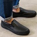 スラック SLACK カーマー LX スリップオン CALMER LX SLIP-ON メンズ レディース スリッポン スニーカー 靴 BLACK/BLACK ブラック系 (SL1225-003 SS19)