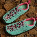 ショッピングkeen 【サイズ交換片道送料無料】KEEN キーン スニーカー ジャスパー W JASPER (1022820 SS20) レディース アウトドアシューズ 靴 Dusty Jade Green/Fuchsia Pink ブルー系