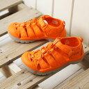 キーン KEEN キッズ サンダル ニューポート エイチツー KIDS NEWPORT H2 Y (1018275 SS18) キッズ ユース スポーツサンダル キャンプ アウトドア 靴 GOLDEN POPPY オレンジ系【ts】【e】