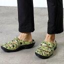 【サイズ交換片道送料無料】キーン ヨギ アーツ KEEN Yogui Arts MNS Camo Green クロックサンダル 靴 メンズ (1002034)