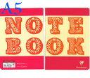 ☆クレールフォンテーヌ(Clairefontaine)☆ノートブック(NOTEBOOK by Bob Foundation)★BIG LETTER A5 横罫-jカラー5冊セット★【RCP】