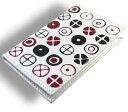 """ショッピングデジタル レザーカードケース/EAMES CIRCLES(イームズサイクル) 新しい皮革着色、""""DIGITAL ENGRAVING""""技術 ACME(アクメ) LE11BC"""