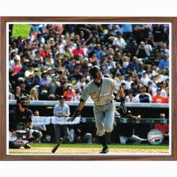 『イチロー3000本安打達成額入りフォト』【野球・メジャーリーグベースボール・マーリンズ・マイアミ・アメリカ】【通販・販売】