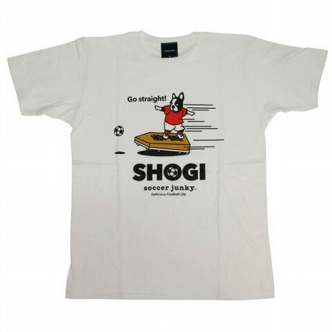 SHOGIの一手 半袖Tシャツ ホワイト