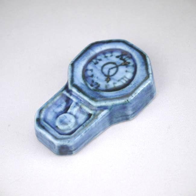 京焼清水焼時計箸置き芳山単品