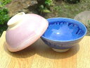 The group [easy  _ packing] of Kiyomizu ware blue and the pink pair of teacups of the same design, one large and one small size [comfortable  _ expands an address] [easy  _ Messe input] [excellent comfortable  _ case] [_ Kanto tomorrow for comfort]
