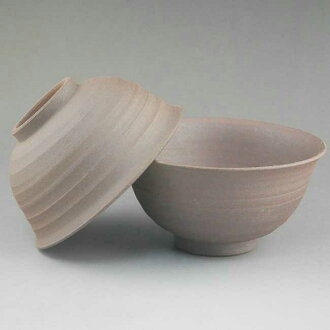 Shimizu-yaki ware tightening couple rice bowl Gagaku