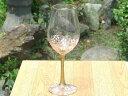 京焼 清水焼 桜ワイングラス 大